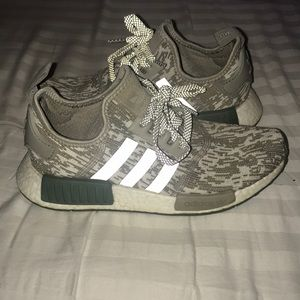 ADIDAS || Women's NMD olive knit sneakers